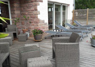 Terrasse et mobilier