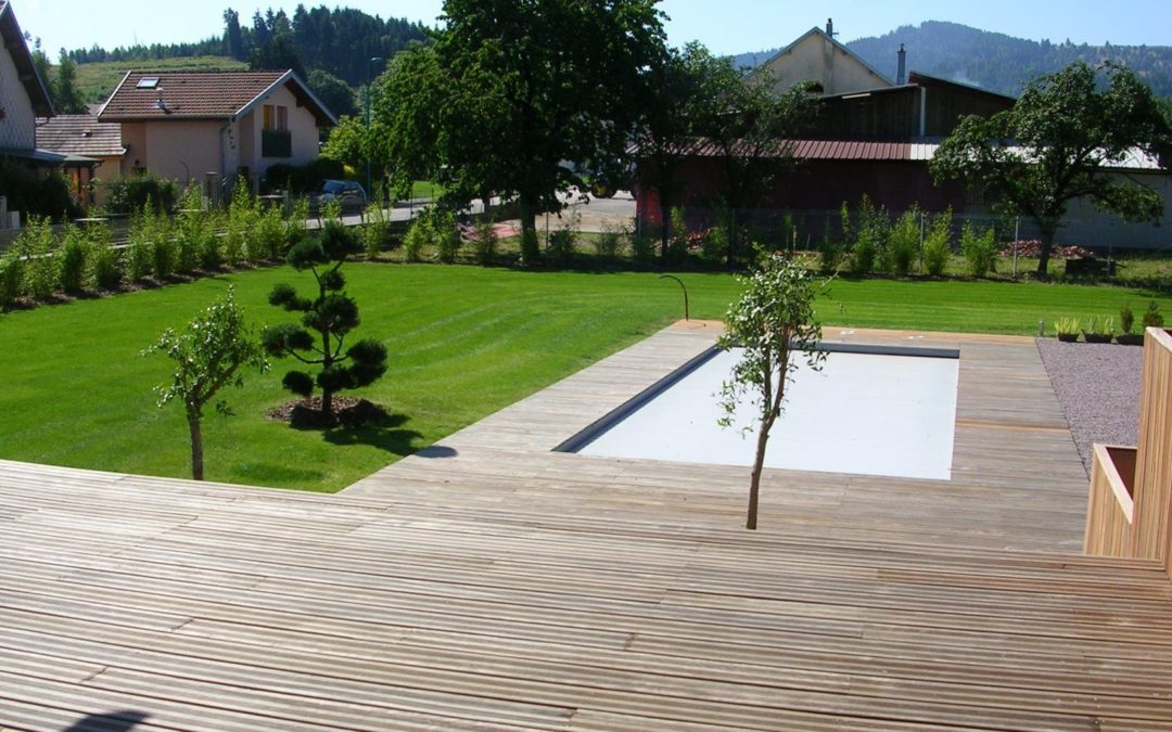 Création de piscine à Gérardmer